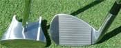 GP Putter and the Face on Chipping