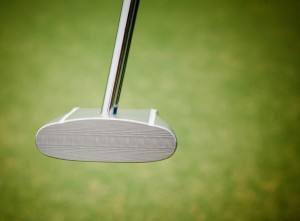 GP putter view of the face
