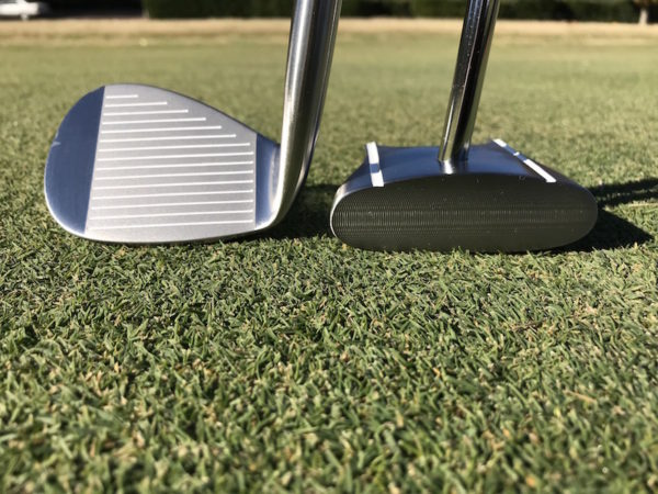 Chipping golf club & GP Putter
