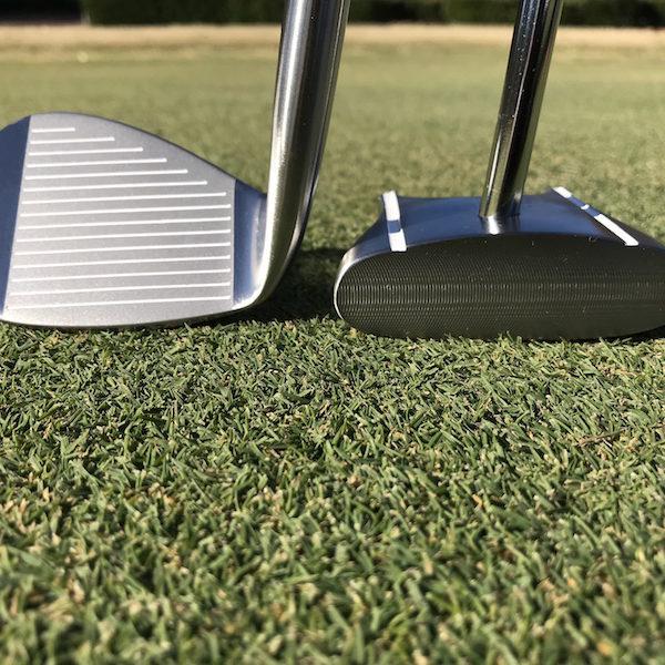 Chipping golf club & GP Putter