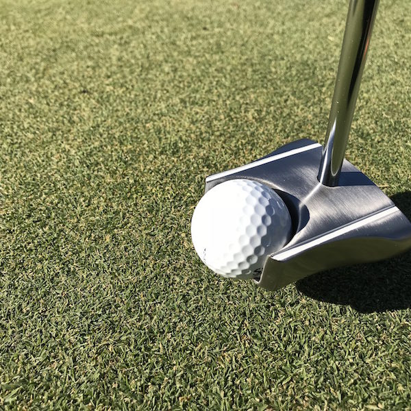 Face on GP Putter ball pickup