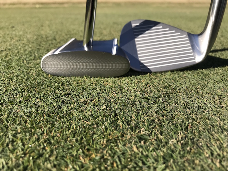 HBB 56 wedge & GP Putter
