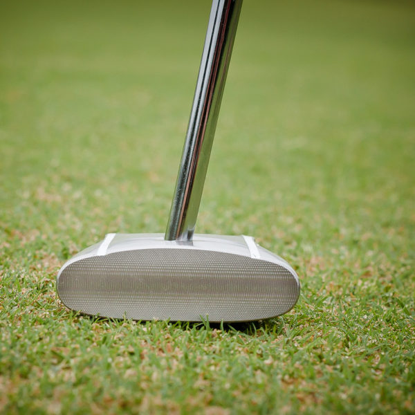 Face-on GP putter view