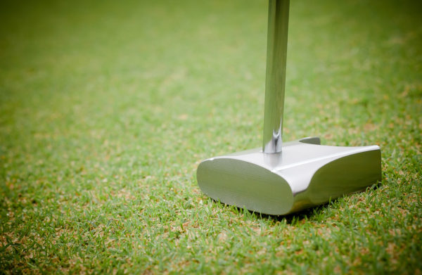 Face on GP putter side view