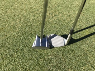 Face on GP Putter & HBB 56 Wedge