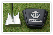 GP putter with head cover